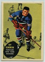 1961-62 Topps #57 Jean-Guy Gendron EX - SET BREAK (112219-22)