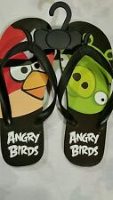 Women's or teens Angry Bird Flip Flops, SIZE 8, BRAND NEW