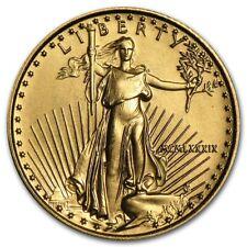 1989 American Gold Eagle 1/10 oz $5 coin - Rare Roman Numeral - FREE SHIPPING!!