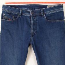 Mens Diesel WAYKEE 084EH Stretch Regular Straight Blue Jeans W35 W34 L32