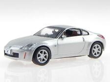 Nissan Fairlady Z Coupe Z33 2002 silber Modellauto 6005s Kyosho 1:64
