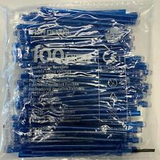 2000 (20 Bags) Saliva Ejectors Blue Dental Disposable Made in Italy