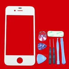 Für Apple iPhone 4 4S Displayglas Frontscheibe Frontglas Weiß Toolset aus Berlin