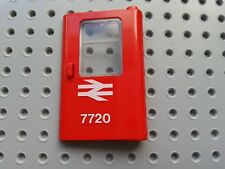 LEGO BRICKS - 1 pezzi (4181pb025 & 4183) Vintage Treno Porta Rh British Rail 7720