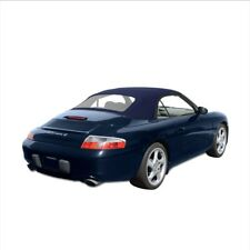 NEW PORSCHE 996 1999-2001 Convertible Soft Top & Plastic window BLUE German OEM