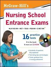 McGraw-Hill's Nursing School Entrance Exams with CD-ROM by McGraw-Hill...