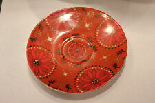 Rare Collectible Starbuck Coffee Red Color Plate.