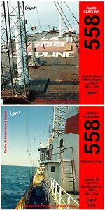 Pirate Radio Caroline 558 Volumes 1 & 2 Listen In Your Car