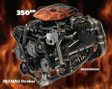 MERCRUISER 383 MAG STROKER MPI 350 HP BRAVO MOTOR with FRESH WATER COOLING