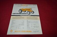 Allis Chalmers D-10 D-12 Gasoline Industrial Tractor Dealer's Brochure YABE11