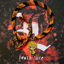 Death Note Friendship bracelet with Light Yagami charm  FREE P&P! (deathnote)