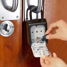 UK 4 Digit Wall Mounted Key Safe Key Box Secure Lock Storage Safety Key Outdoor