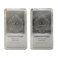 2 x 10 oz .999 Silver Scottsdale STACKER® Silver Bars #A248
