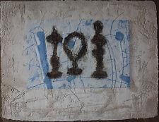 Pierre-Marie BRISSON - Gravure au carborundum signée épreuve d'artiste**
