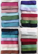 ! oferta! 40 yardas - 8 Colores X 5 metros - 14MM Rayón Costura/Cinta Vintage vinculante