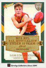 2012 Select AFL Future Force Cards All Australia Team Card AA1 Sam Colquhoun