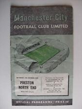 Preston North End Away Team Division 1 Football Programmes