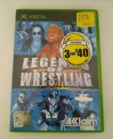 Legends of Wrestling XBOX Original PAL *Complete With Manual*
