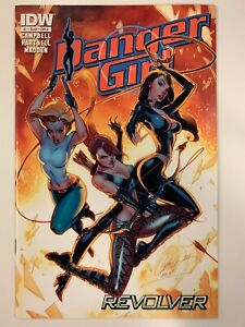 IDW DANGER GIRL : REVOLVER #1 A COVER : NM CONDITION