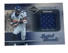 2003 Leaf Limited - Threads #LT14 Clinton Portis Game Used Jersey /100 Broncos