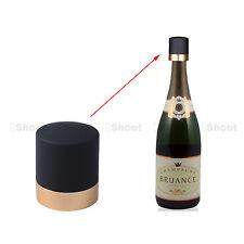 Tappo di bottiglia di vino champagne riutilizzabili cork sigillo coprono d'oro