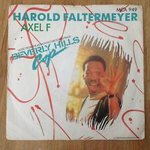 """7"""" HAROLD FALTERMEYER  AXEL F 1984."""