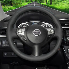 Steering Wheel Cover Wrap for Nissan Juke 11-17 Maxima Infiniti FX35 FX50 QX70
