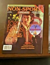Rare Non-Sport Update Magazine 2001/2002 Lord of the Rings Simpsons Beatles Mint