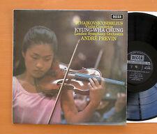SXL 6493 Tchaikovsky Sibelius Violin Concertos Kyung-Wha Chung EXCELLENT Decca
