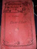 """Rare Ben-Hur L.Wallace 3ème ed. Mignot Lausanne coll.""""Bibliotheque de la maison"""""""