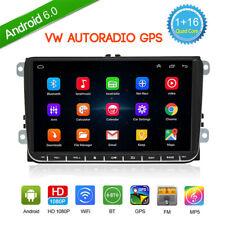 "9"" 2DIN Autoradio de Coche Radio GPS Navi Bluetooth para VW Touran seat skoda"