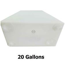 "RV Fresh or Gray Water Holding Tank21 Gallon39/"" x 16/"" x 8/"""