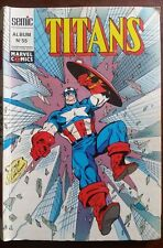 Marvel Album TITANS n°16 du 8/1992 les n°163-164-165