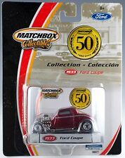Matchbox 50 Years Collection 1933 Ford Coupe New On Card 2002