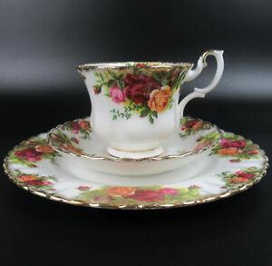 Royal Albert Porzellan Kaffeegedeck Serie Old Country Roses groß England