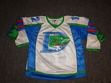 Denver Cutthroats Vintage Defunct CHL Minor League Hockey Jersey YOUTH Large