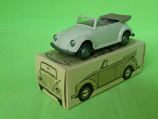 WIKING 151 VW KAFER CONVERTIBLE 1:40 GREY-WHITE   RARE SELTEN  NMIB