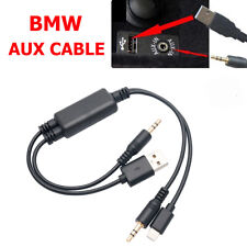 Y Cable Lead USB AUX Interface for BMW MINI COOPER iPhone 6 7 iPod Touch5 Nano7