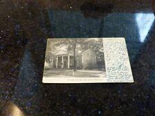 Vintage Postcard Holland Land Office, Batavia, NY 1907, Original, Posted