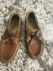 SPerry Top Sider Men's Leather Boat Shoes 8
