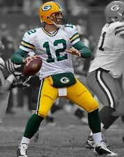 Green Bay Packers AARON RODGERS Glossy 8x10 Photo NFL Spotlight Print Poster