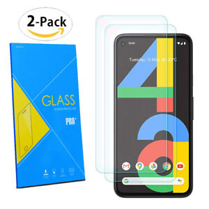 2 x 100% Genuine TEMPERED GLASS Screen Protector Cover for Google Pixel 4a 4G