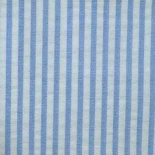 Bleu et blanc coton seersucker pose de la jaquette - 2.50 mtrs