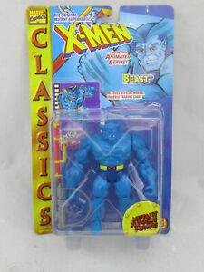 NEW - X-Men Beast w/ Mutant Ripping Power Action Figure Toy Biz 1995 NOC