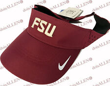 NEW Florida State Seminoles FSU Nike DriFit Visor One Size Team Issued FREE SHIP