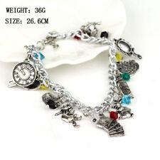 Tibetan Silver Glass Costume Charms & Charm Bracelets