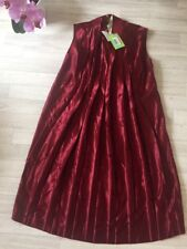 Miu Miu (prada) Ladies Red Dress Size IT42 UK10 Made In Italy Distressed Vintage
