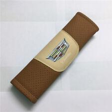 2Pcs Brown Color High Quality Car Seat Belt Shoulder Cover Pad
