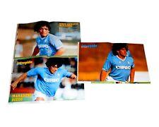 MARADONA 3 poster intrepido sport 1983/84/85 Hateley
