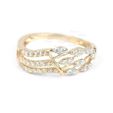14K Gold 0.24 Ct. Diamond Ring Engagement Wedding Jewelry Gift For Her